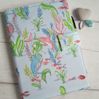 A5 Mermaid Reusable Notebook Cover