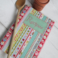 A5 Recipe Book - Retro Baking Print