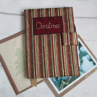 A5 Christmas Reusable Notebook Cover