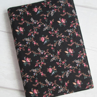 A6 Ditsy Floral Trellis Reusable Notebook Cover