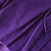 Amethyst Purple Cotton Velvet