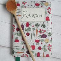 SOLD - A5 Recipe Book - Vegetables
