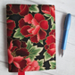 A6 Paeony Reusable Notebook Cover