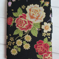 A5 Vintage Floral Reusable Notebook Cover