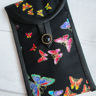 Rainbow Butterflies Glasses or Phone Case