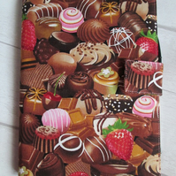 A5 Chocolates Reusable Notebook Cover