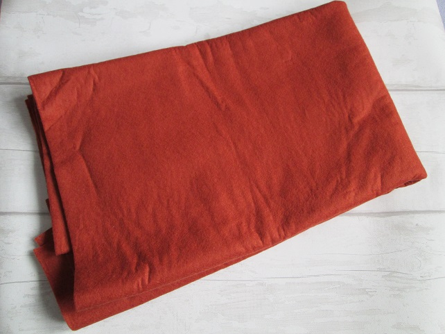 Destash - Terracotta Felt - 180 cm wide, 1 metre long