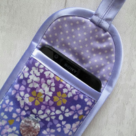 Lilac Floral Glasses or Phone Case