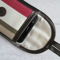 Autumnal Stripe Glasses or Phone Case