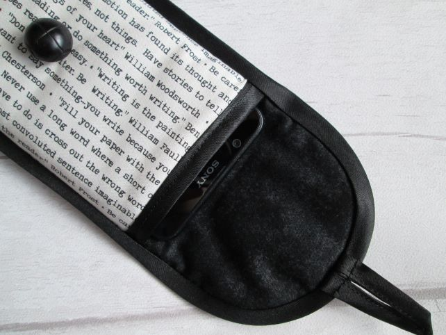 Quotes About Writing Glasses, Phone or Pencil Case