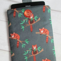 "Red Panda Kindle or 7"" Tablet Case"