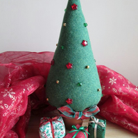 'Harris Tweed' Christmas Tree and Parcel Set 2