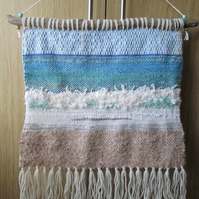 'Corfu' Sea Weaving - Woven Wall Hanging, Seascape