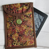 Autumn Chrysanthemums Kindle or 7 inch Tablet Case