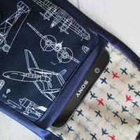 Aircraft, Aeroplane Blueprints Glasses or Phone Case