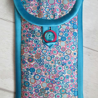 Blue and Pink Spotty Glasses or Phone Case, Millefiori