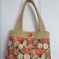 Autumnal Paeonies Handbag