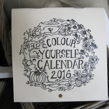 Colour Yourself Calendar 2016