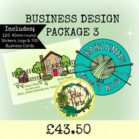 CUSTOM BUSINESS DESIGN PACKAGE 3