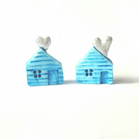 Love House - miniature house - love token -stocking filler