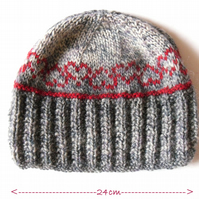 knitting pattern for hearts tea cosy