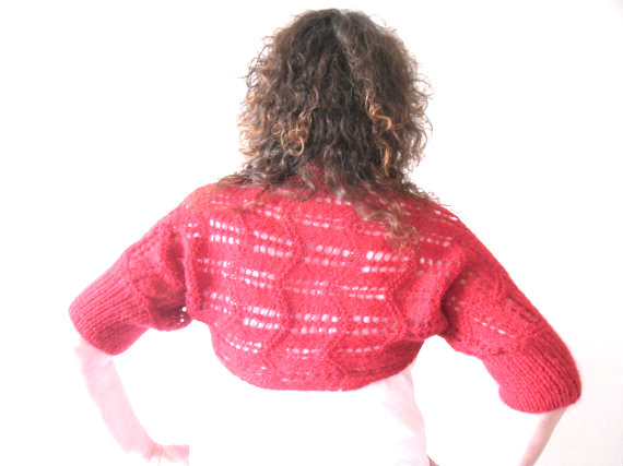 Christmas Red Bolero , half price sale
