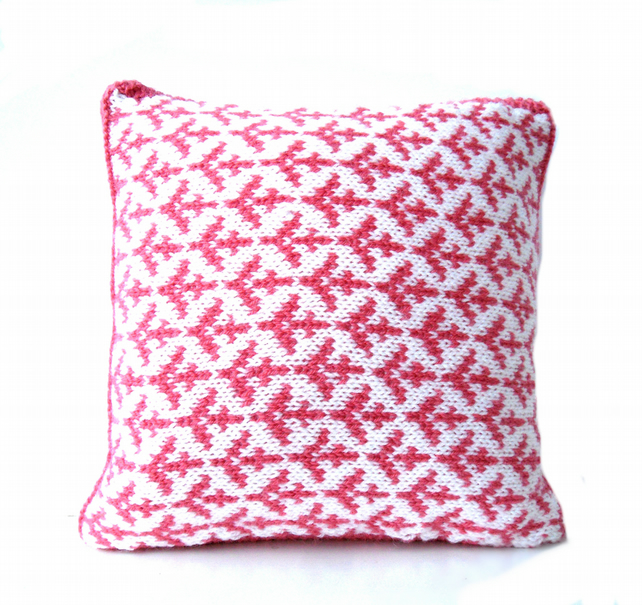 Valentine gift Cupid arrows cushion