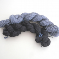 DK Baby Yak yarn in brown or grey 50 grams