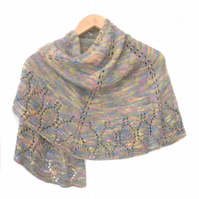 Luxury lace shawl