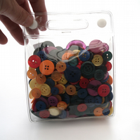 Bag of Colourful Buttons