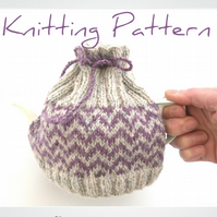 2 cup tea cosy knitting pattern