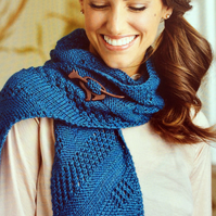Sampler Scarf Knitting Pattern