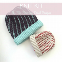 Beanie Hat Knitting kit
