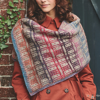 Scottish Tartan Wrap Knitting Pattern