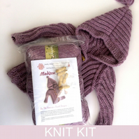 Baby Jacket Chunky Knitting Kit