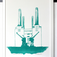 Battersea III - Turquoise - signed and numbered limited edition