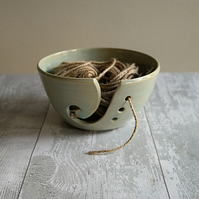 'Sea Foam' Ceramic Yarn Bowl - Made to Order