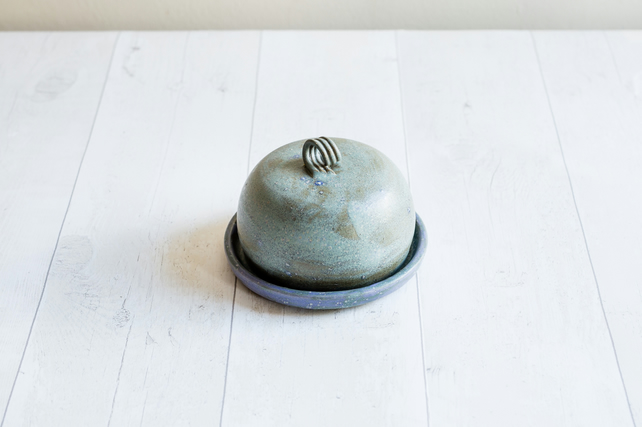 Butter Dish - Stoneware - Made to Order - Free UK Shipping
