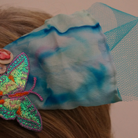Shimmering Butterfly Fascinator