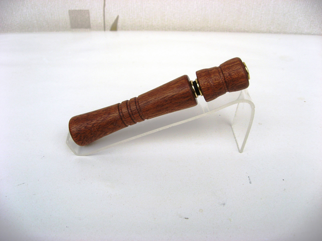 Hand Crafted Sapele Wood Perfume Pen