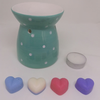 Oil burner gift set