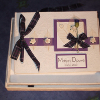 Scottish Dreams Wedding Guest Book