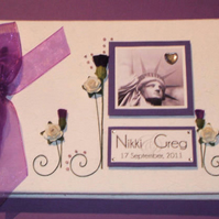 New York Wedding Guest Book