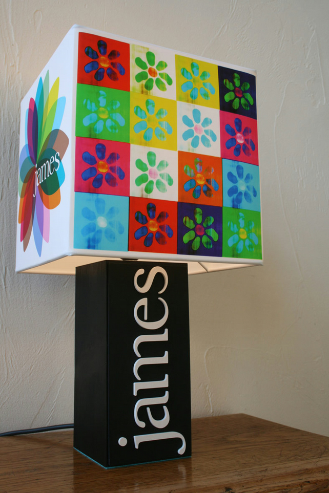 Handmade James Lamp & Album Cover Shade