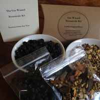 DIY Home made Gin Botanicals Kit - Make Gin at home in 3 easy steps