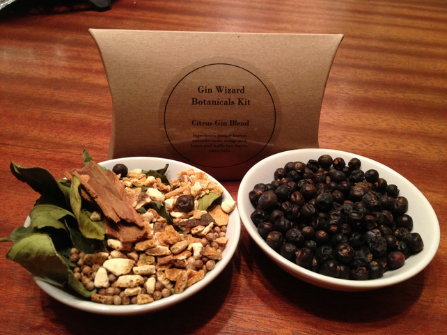 DIY Gin Kit - Citrus Blend botanicals, home made gin in 3 easy steps