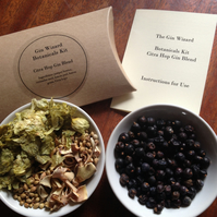 DIY Gin Kit - Citra Hop blend for a zesty hoppy taste and aroma (free shipping)