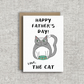 Happy Father's Day! Love, The Cat