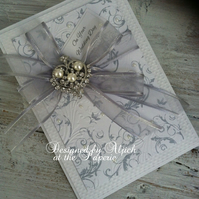 Wedding Card, Engagement, Bridal Shower, Personalized, Wife, Fiancee,