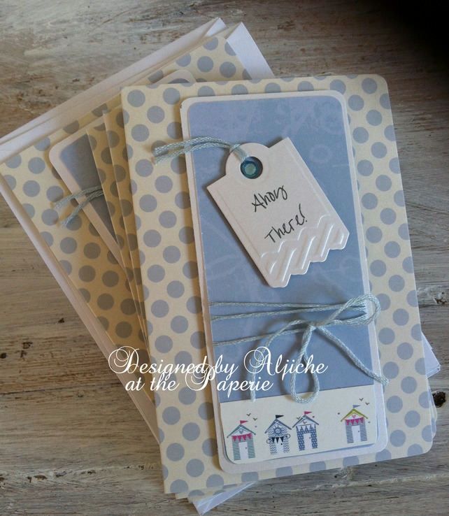 Handmade Notelets, Note cards, Notelet Sets, Gifts,  Sea Theme,